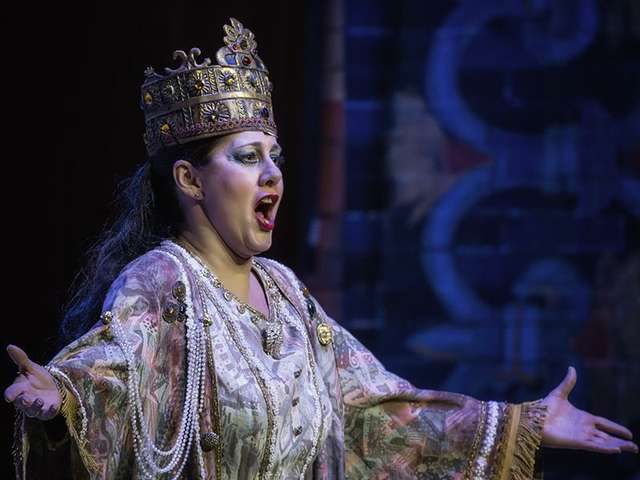 Nabucco - Sopranistin Silvia Rampazzo