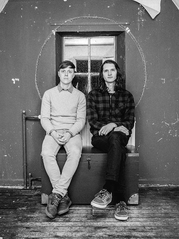Singer/Songwriter Geert van der Velde und Thijs Kuijken sind Black Oak