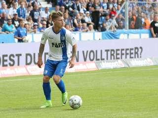 Philipp Türpitz trifft zwei mal gegen RWE