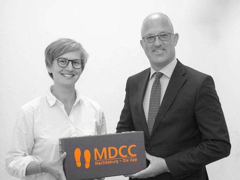 Magdeburger Macher: Jennifer Horst und Guido Nienhaus von