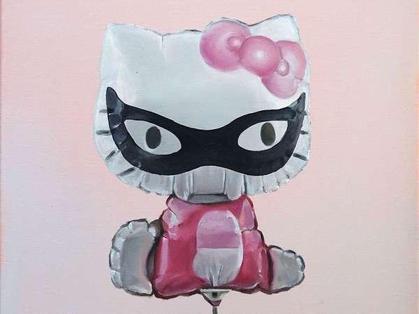 Kunst/Mitte Catwoman