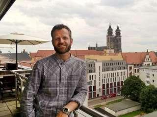 Sichtbar-Chef Denny Mette