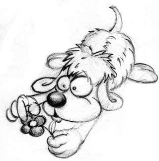 Hund Comic