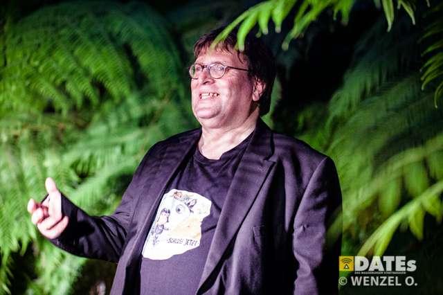 Kulturnacht 2017 - Gruson Gewächshäuser –  Kabarett mit Sand