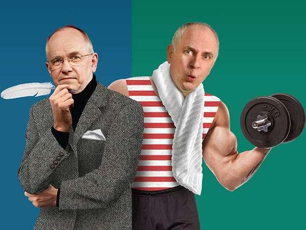 Wir bringen uns in Form - Hans-Günther Pölitz und Lothar Bölck