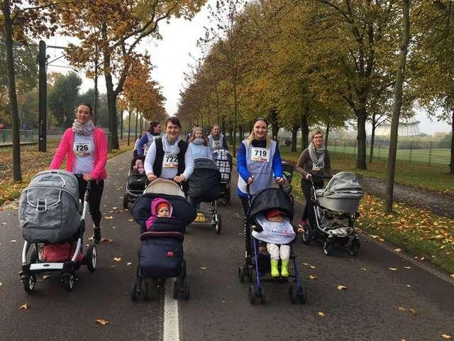 Fit Dank Baby beim Magdeburg Marathon