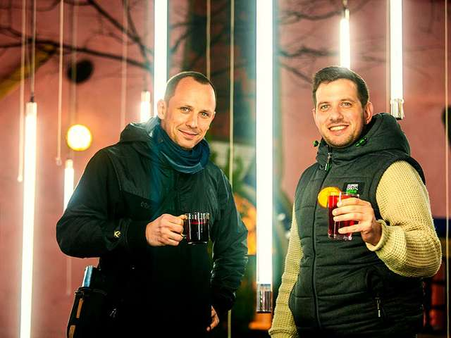 Winterbar von Aaron Buchholz und Florian Seidel