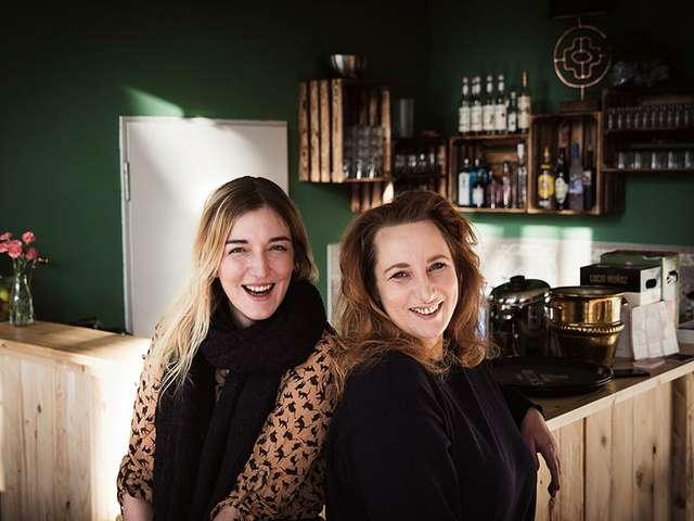 Katharina Ehle und Julia Duczmal haben seit Sommer 2017 ihre Bar in Stadtfeld