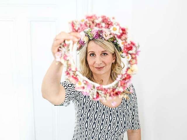 Fräulein Vintagezauber alias Sandy Hummel liebt Blumen