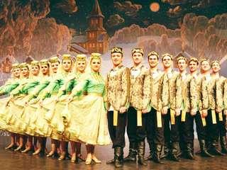 Die russische Weihnachtsrevue Ivushka