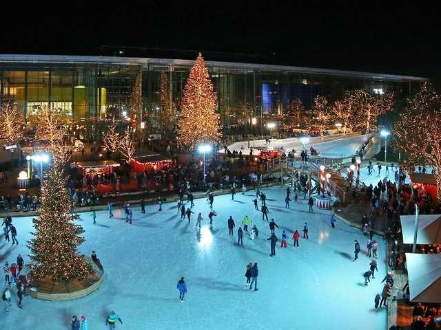 Wintermarkt Autostadt