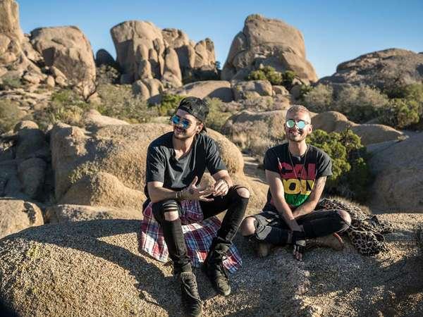 Tokio Hotel - Hinter die Welt: Bill und Tom entspannt in L.A.