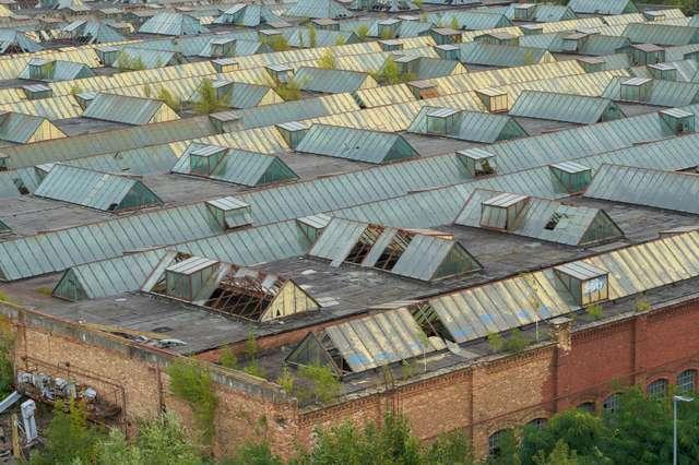 Industrieruinen in Magdeburg
