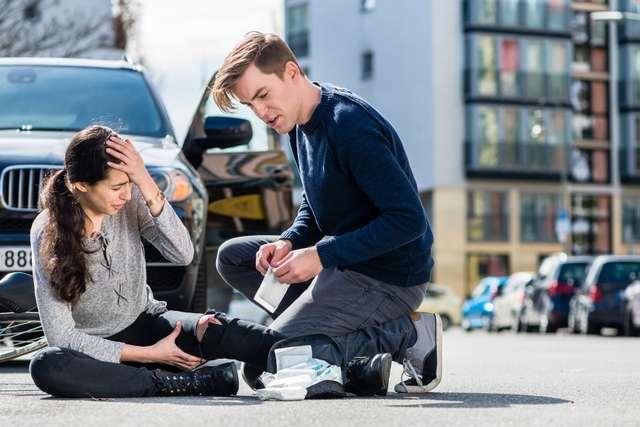 Erste Hilfe bei Unfall