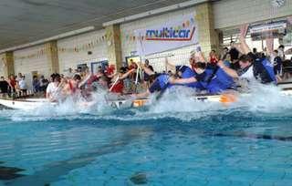Drachenboot Indoor Cup 2018: Mit aller Kraft zum Sieg