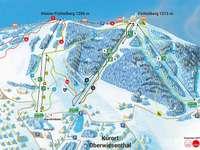 Der Fichtelberg im erzgebirgischen Oberwiesenthal