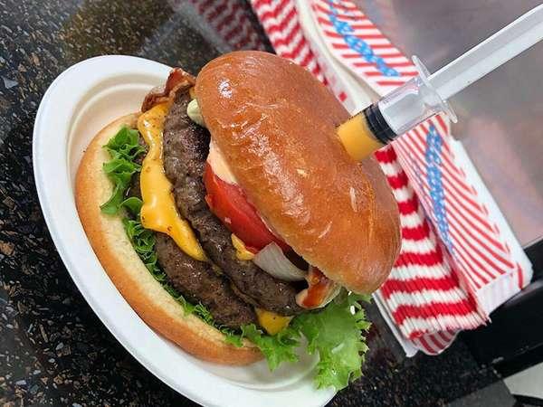 Saint Burger mit dem Extra-Käse-Kick