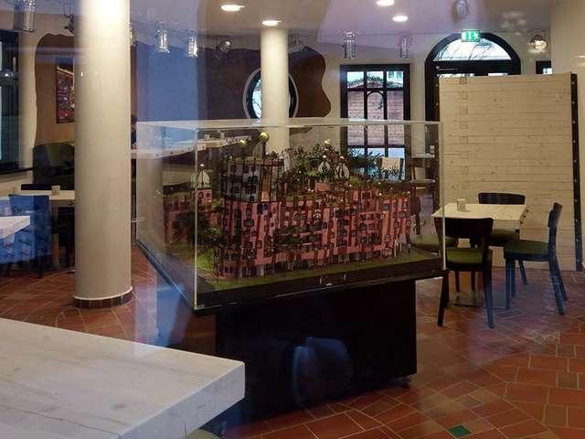 Biobistro-Innenbereich vom Naturata in der Grünen Zitadelle