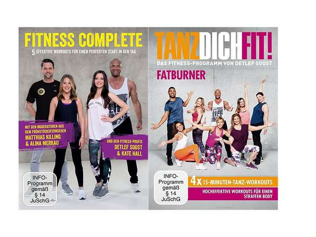 DVDs Detlef D. Soost - Tanz dich fit/Fitness Complete