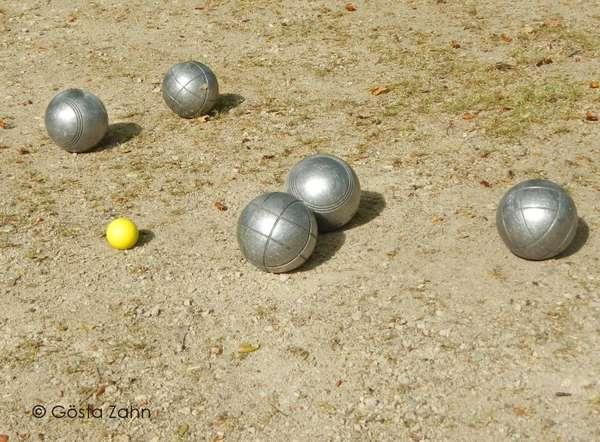 Boule im Kurpark