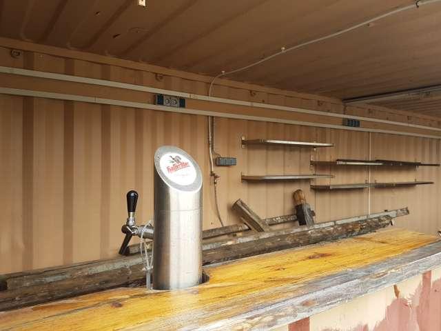 Strandbar - Umbau
