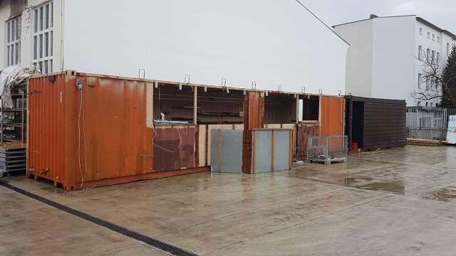 Strandbar: Umbau