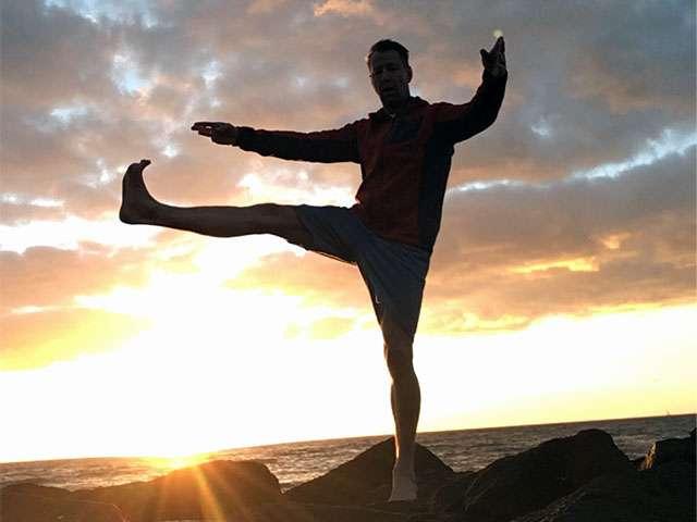 Kampfkunstlehrer und Coach Roberto Köhn