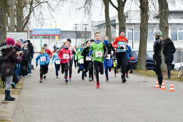 Start zum Kinderduathlon