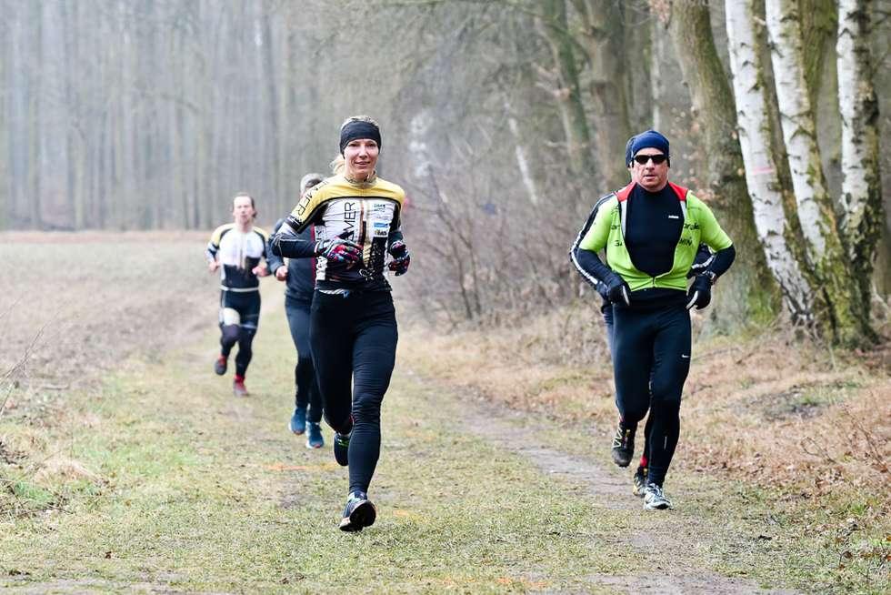 Siegerin Doreen Beacke beim ersten Lauf