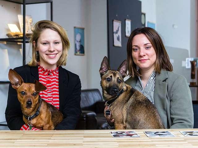 Lokalgold-Chefinnen Laura Voscort und Anna-Marie Rausch
