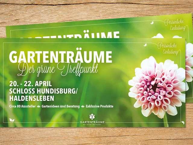Gartenträume Hundisburg -Tickets