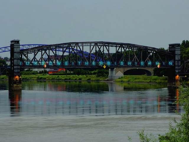Hubbrücke mit Blick nach Süden
