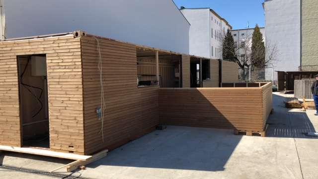 Strandbar-Reopening: Neue Container