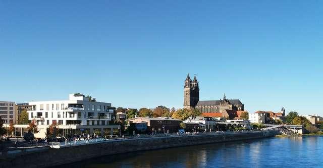 Magdeburg, Elbe und Dom