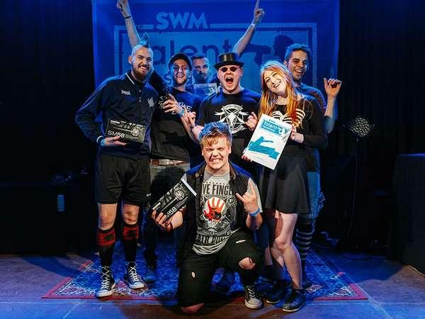 Brain Funk und The Aceholes sind SWM TalentVerstärker-Finalisten