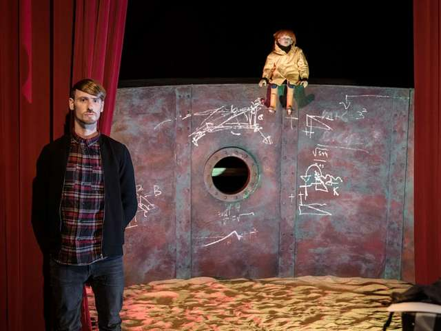 Der Schimmelreiter im Puppentheater
