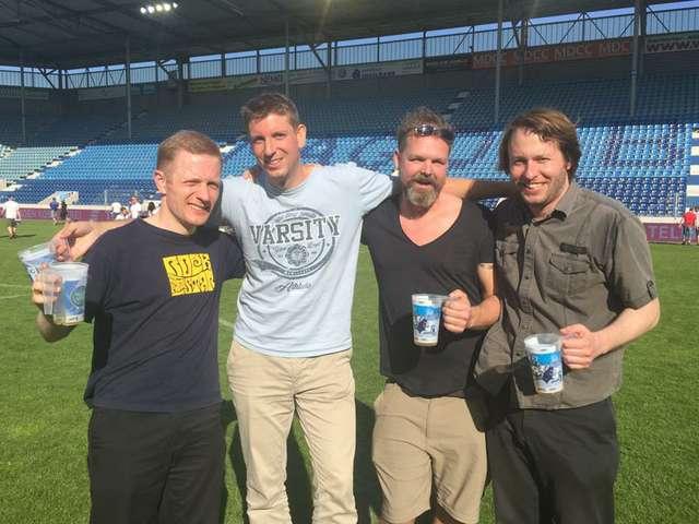 1. FC Magdeburg: Vier Freunde müsst ihr sein