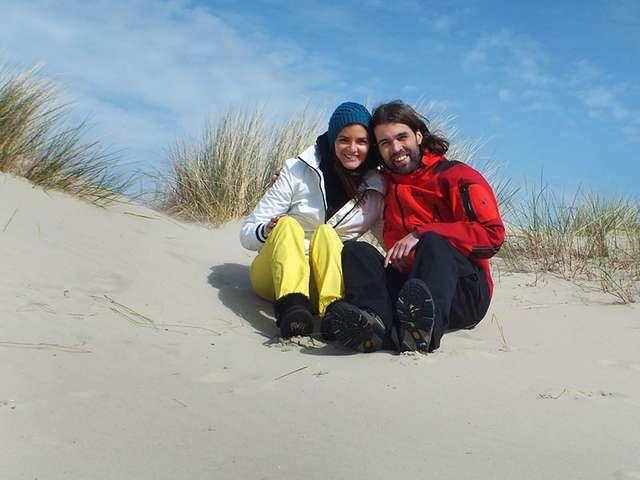 Frauke Rauner und Wolf Stein lieben die See
