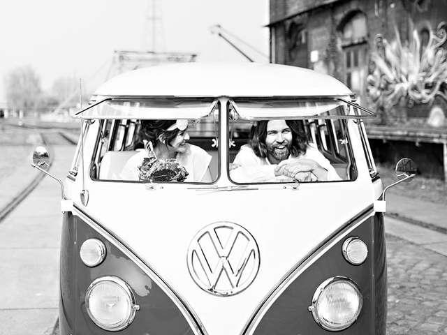 Hochzeitspaar Frauke Rauner und Wolf Stein