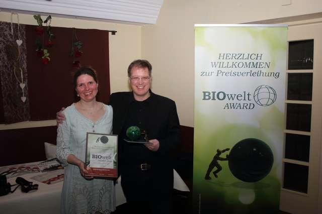 BIOwelt Award für Naturata
