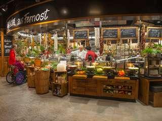 Wie auf einem französischen Marktplatz: Restaurant Kochmütze