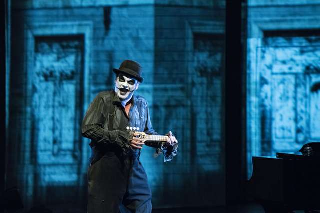 Puppentheater Blickwechsel Edgar Allan Poe - The tiger Lillies