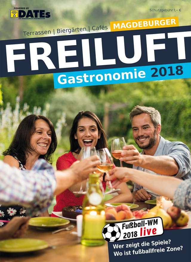 Magdeburger Freiluft-Gastronomie 2018