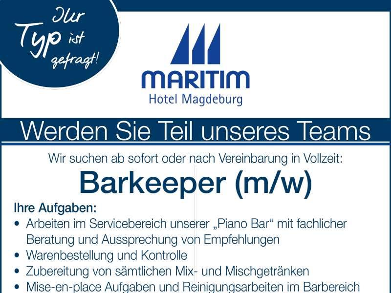 Barkeeper m/w gesucht! - Stadtmagazin DATEs