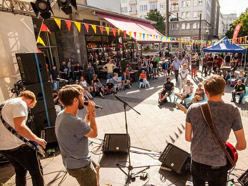 Fete de la musique - Live-Musik satt