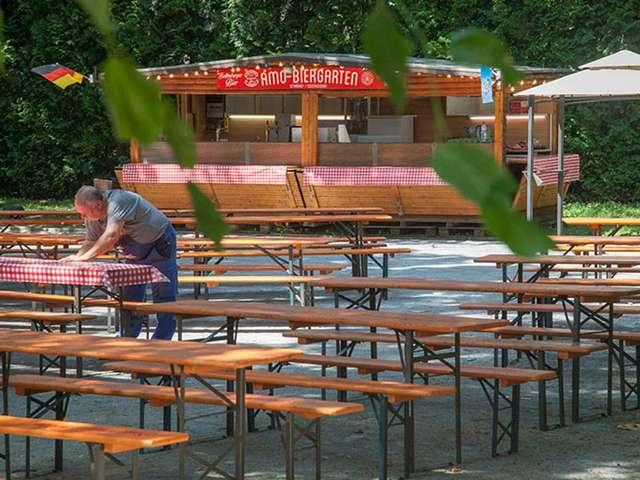 AMO-Biergarten