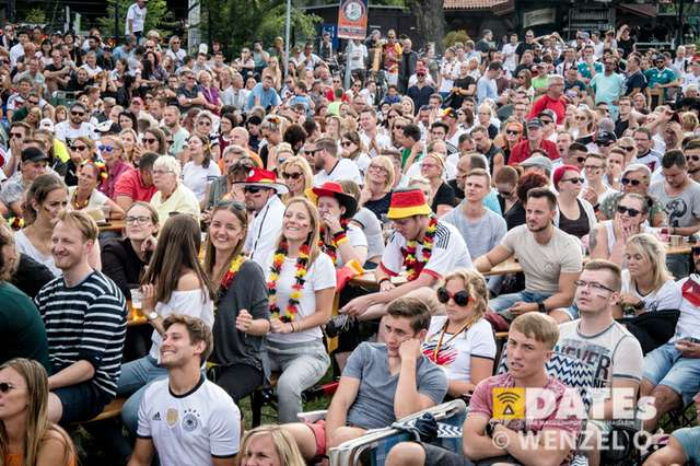 WM 2018 - Public Viewing Deutschland - Mexiko