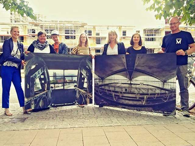 Bauzaungalerie - Vergessenes Magdeburg