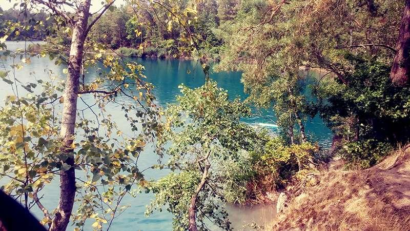 Tiefersee und Blauer See