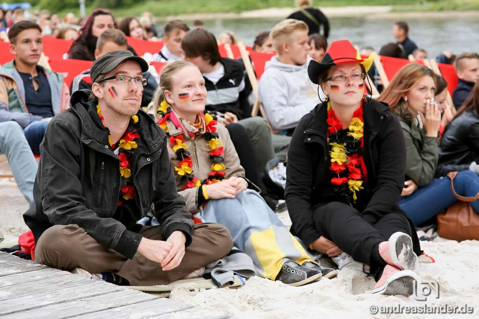 Public Viewing in Magdeburg